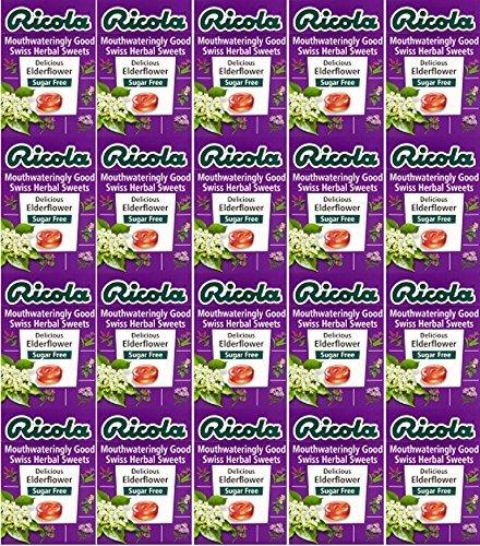 twenty-packs-of-ricola-elderflower-swiss-herb-drops-sugar-free-45g-by-ricola