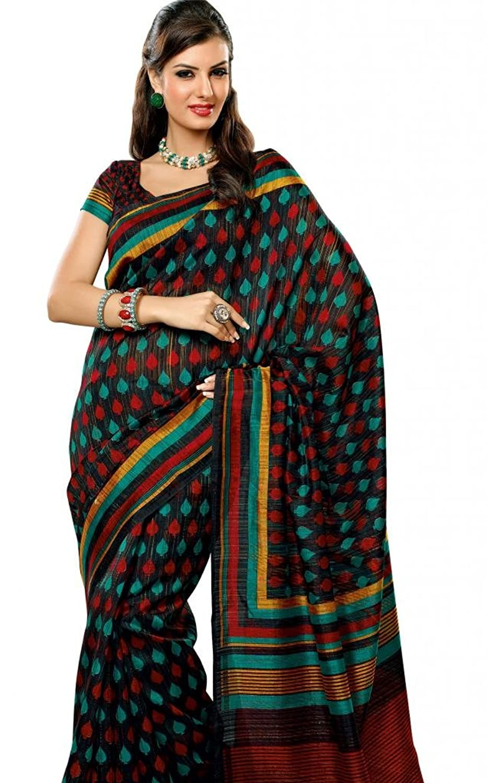 Buy Prafful Bhagalpuri Silk Saree At Rs 512 Worth Of Rs 1699