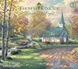 Thomas Kinkade Painter of Light with Scripture: 2012 Wall Calendar