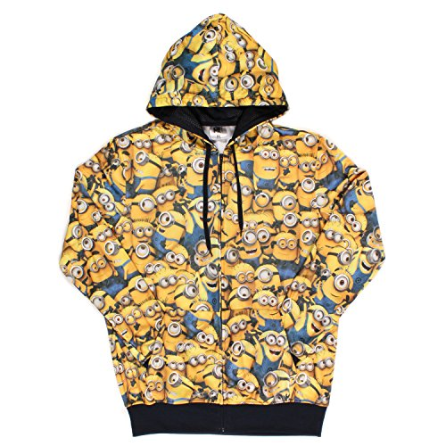 Despicable-Me-Minions-All-Over-Licensed-Graphic-Hoodie