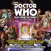 Doctor Who: Tales from the TARDIS: Volume 2: Multi-Doctor Stories Radio/TV Program by Terrance Dicks, Philip Martin, Gary Russell Narrated by Colin Baker,  full cast, Jon Pertwee, Peter Davison