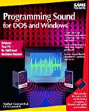 img - for Programming Sound for DOS and Windows/Book and Disk book / textbook / text book