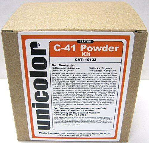 Ultrafine Unicolor C-41 Powder Developer Kit (1 Liter), Model: 10123, Electronic Store (Developer C41 compare prices)