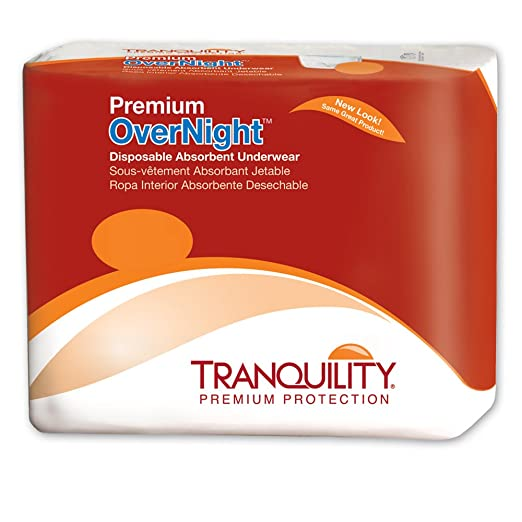 Tranquility 2115 Premium OverNight Pull On diapers (medium) 72/case