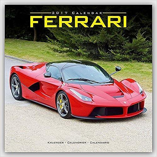 Ferrari 2017 Wall Calendar