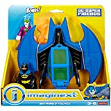 Fisher-Price Imaginext DC Super Friends Batman and Batwing with Joker Figure
