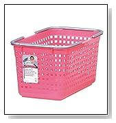 Like-it Plastic Laundry Basket - Pink