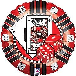 Casino Chip Balloon