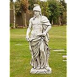 Large Garden Statues - Roman Empire Gladiator Stone Sculpture