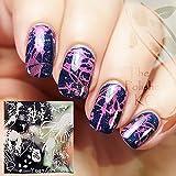 Long Hair Girl Pattern Nail Art Stamp Template Image Plate QA-Y027 # 22254