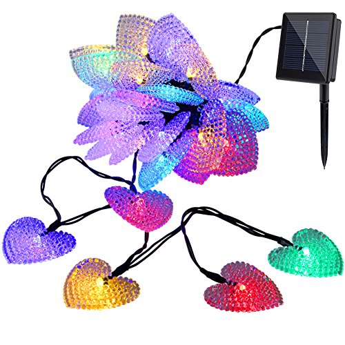 Outdoor String Lights Made In Usa : GDEALER Solar Outdoor String Lights 30LED 20ft Solar Powered - Import It All