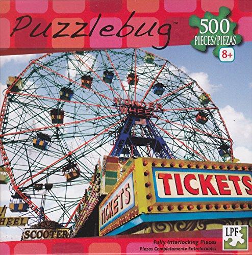 Puzzlebug 500 ~ Coney Island Ferris Wheel, NYC