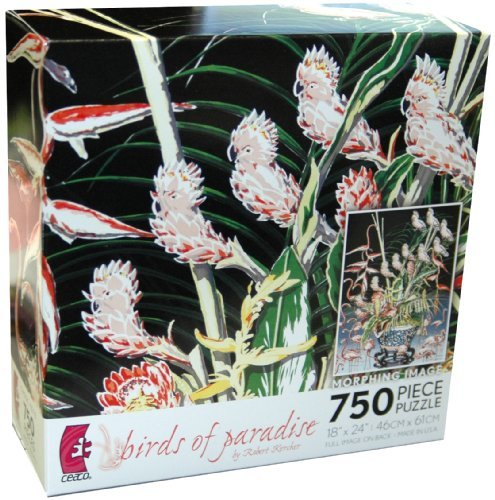 Robert Kercher Metamorphosis 750-Piece Jigsaw Puzzle - Birds of Paradise
