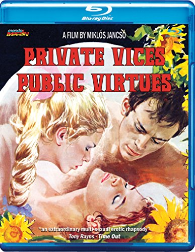 Private Vices Public Virtues [Blu-ray]