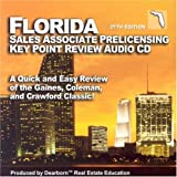Florida Salesperson Prelicensing Key Point Audio CD: A Quick and Easy Review of the Gaines, Coleman and Crawford Classic!