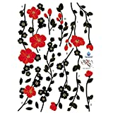 Easy Instant Decoration Wall Sticker Decal - Blossoms in the Wind