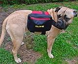 Hunderucksack, zum Verhaltenstraining, (Gr. L), 77-98cm Brustumfang, für grosse Hunde, wie Retriever, Rottweiler, Dobermann, Mastiff