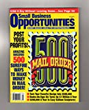 Small Business Opportunities Magazine - September, 1997. Mail Order-500 Ideas; Balloon Sculptures; Direct Market; Canning; Antiques; Theme Park; Event Promo; Party Host; Eco-Preneuring; Market Fair
