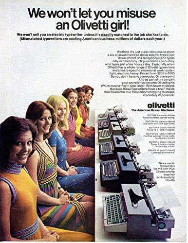 Olivetti-Typewriter-Vintage-Magazine-Ad-We-wont-let-you-misuse-an-Olivetti-girl