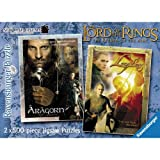 The Lord of the Rings - Return of the King - 2 Puzzles in a Box (500 pieces each)