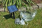 Solarrific® G3035 Solar Air Pump Kit for Fish Pond