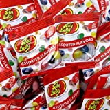 Jelly Belly Assorted Flavor Fun Size Bags .35oz each (Pack of 36)