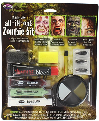 Zombie Family Make Up Set