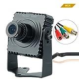 Toughsty 2.1MP 1920x1080P Color Mini HD-SDI Camera CCTV Security Camera with OSD Menu (Color: Black, Tamaño: 75x70x65mm)