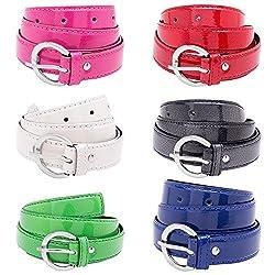 VIVA Girls Combo of 6 Super Style belts