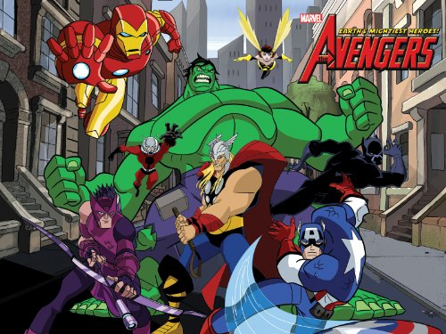 Amazon.com: The Avengers: Earth's Mightiest Heroes Season