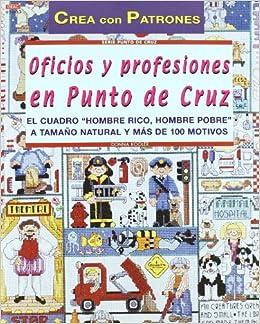 Oficios y Profesiones en Punto de Cruz: KOOLER(873767): 9788495873767