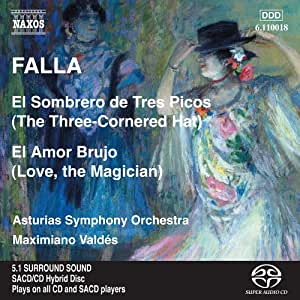 De Falla - Sombrero De Tres Picos: Three Cornered Hat - Amazon.com