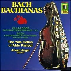 Bach Bachianas cover
