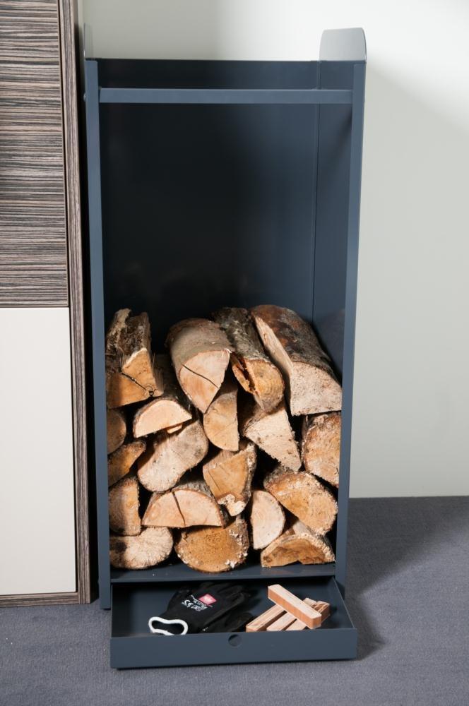 Holzaufbewahrung, Kasten für Feuerholz,