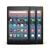 Fire HD 8 3-Pack, 32GB - Includes Special Offers (Black/Marine Blue/Canary Yellow) (Color: Black/Marine Blue/Canary Yellow)