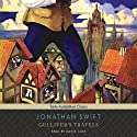 Gulliver's Travels Audiobook by Jonathan Swift Narrated by David Case