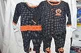 Baby's Halloween Sleeper NWT Pumpkin Costume Ruffled Back 0-3 Months