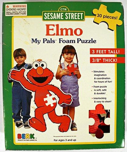 Cheap Fun Berk Sesame Street Elmo My Pals Foam Puzzle (B0038QJ464)