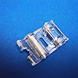 Tinksky Durable Domestic Sewing Machine Snap On Roller Presser Foot for Brother /Singer /Janome /Toyota