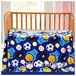 2 Ply Print Flannel Toddler Baby Boys and Girls Blanket Super Soft and Warm 55\