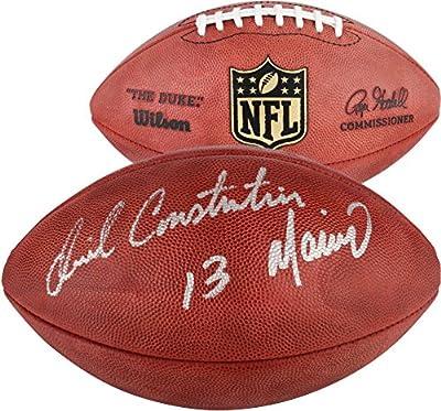 Daniel Constantine Marino Miami Dolphins Autographed Duke Pro Football - Fanatics Authentic Certified