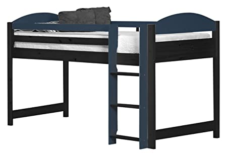 Design Vicenza Maximus Mid Sleeper Frame Graphite With Blue Details