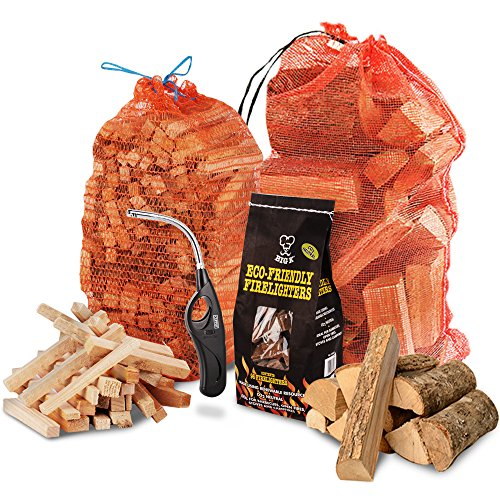 the-chemical-hutr-fire-wood-pack-15kg-of-kiln-dried-heat-logs-3kg-kindling-96-pk-of-eco-firelighters