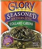 Glory Foods Seasoned Collard Greens 27.0 OZ (Pack of 12)