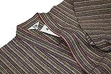 木綿紬-婦人用作務衣(さむえ)綿100% (M, からし)
