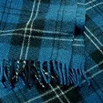 Ramsay Blue Tartan Wool Blanket Trave...
