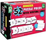 Write-on-Wipe-Off-52-Puzzle-Pieces-with-Writing-Lines