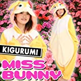 Japan Sazac Original Kigurumi Pajamas Halloween Costumes Miss Bunny Cosplay