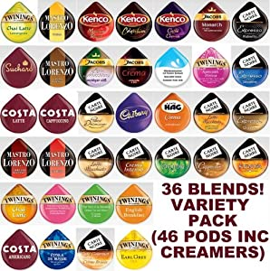 Shop for 36 Tassimo T Discs Pods Variety Pack - 1 x Each Flavour - Tassimo