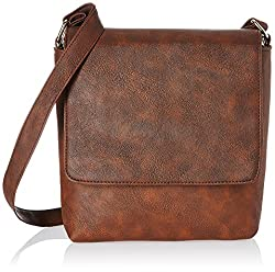 Alessia74 Women's Messenger Bag (Brown) (SU011C)